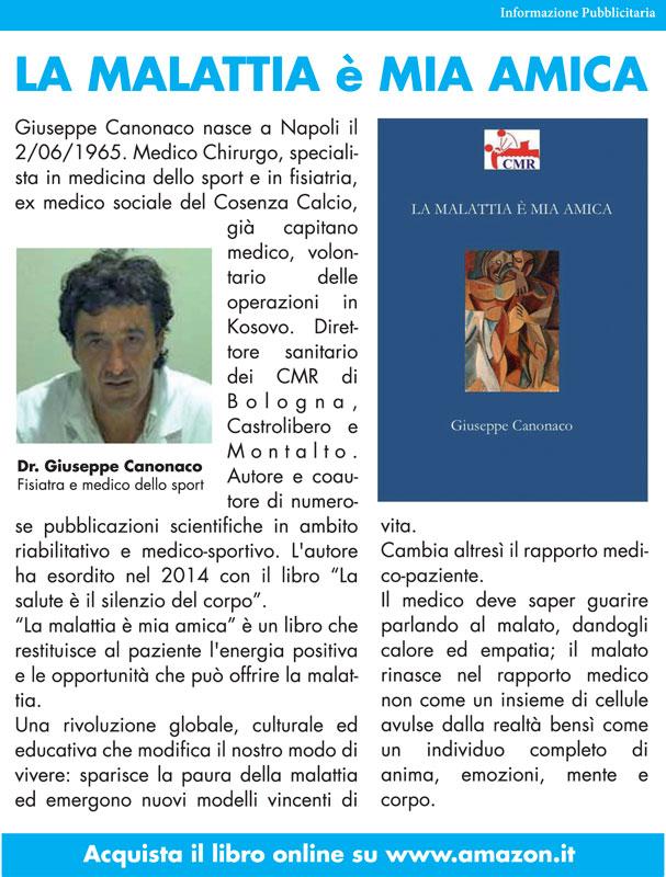 Libro dr Giuseppe Canonaco direttore sanitario